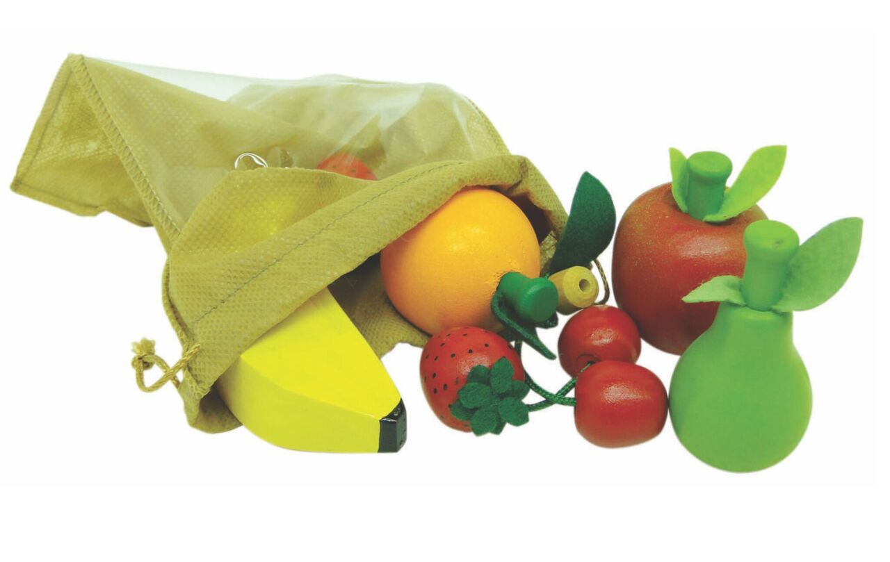 Comidinhas-Kit Frutinhas