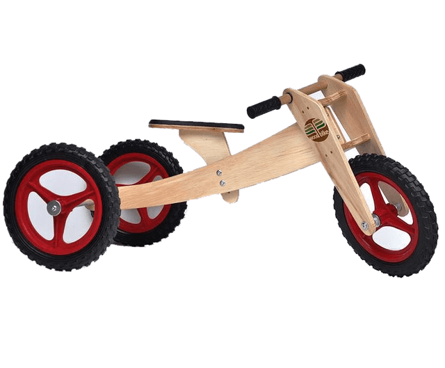 Bicicleta de Equilíbrio - 3 em 1