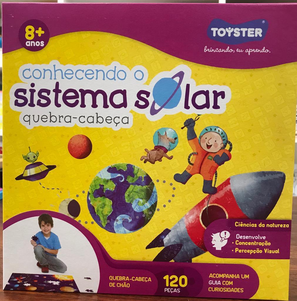 QUEBRA CABEÇAS CONHECENDO O SISTEMA SOLAR 120 PEÇAS