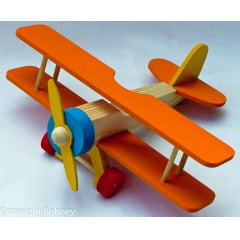 Avião Bi-Plano