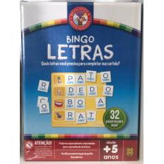 Bingo Letras - Grow