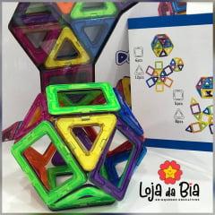 Formas Magnéticas - kit 30 peças