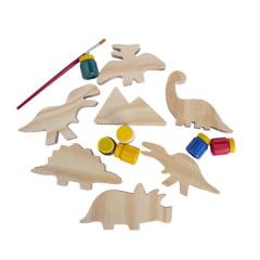 Kit pinta e brinca - Dinossauros