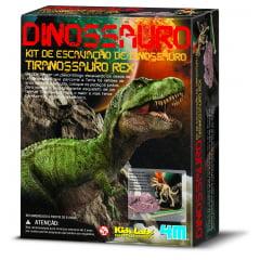 Kit Escavação - Esqueleto de Dinossauro - Tiranossauro Rex