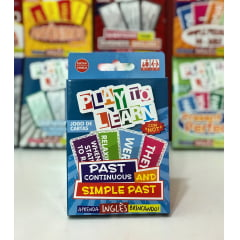 Jogo de cartas - Verbo  To Be-Play to Learn