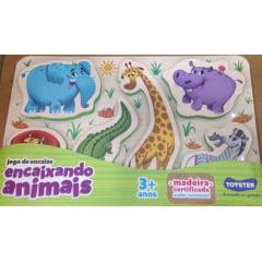 Jogo de encaixe - Encaixando animais