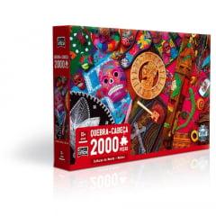 QUEBRA CABEÇAS CULTURAS DO MUNDO MÉXICO 2000 PEÇAS